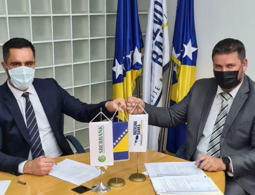 Razvojna banka FBiH i Sberbank BH potpisale Ugovor o poslovnoj saradnji