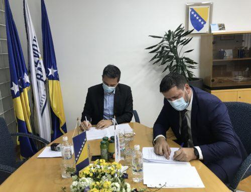 Potpisan Ugovor o poslovnoj saradnji između Razvojne banke FBiH i Sparkasse Bank